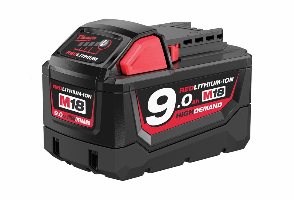 Batteri 18 volt, 9,0 ah. Milwaukee