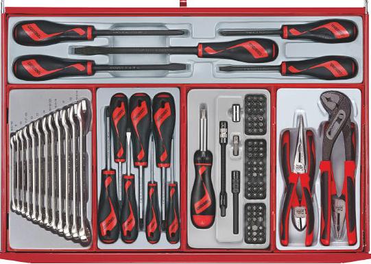 Teng tools værktøjsvogn