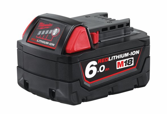 Batteri 18 volt, 6,0 Ah. Milwaukee