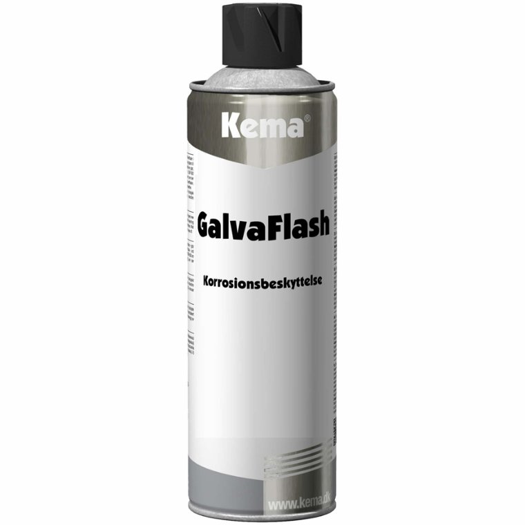 Galva Flash spray. Kema