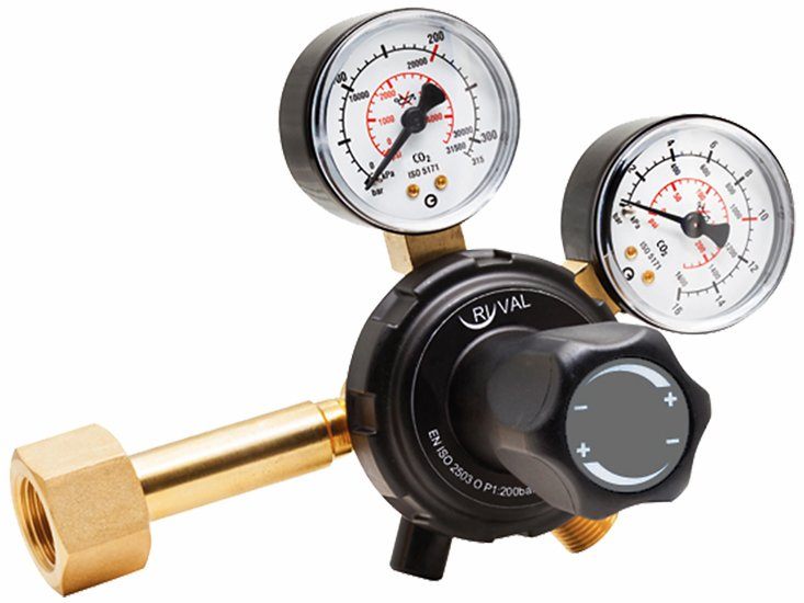 Regulator - CO2. AGA