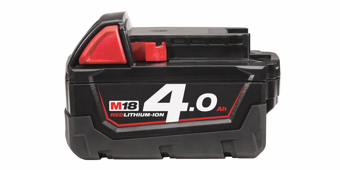Batteri 18 volt, 4.0 Ah. Milwaukee