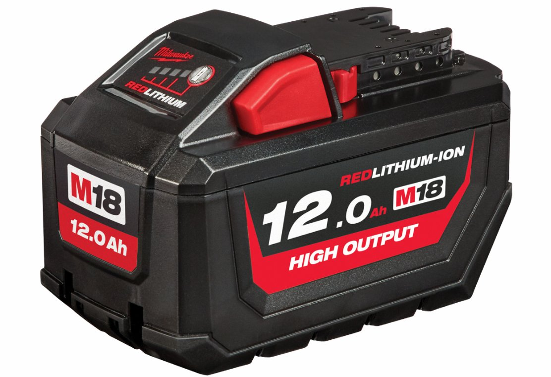 Batteri 18 volt, 12 Ah. Milwaukee