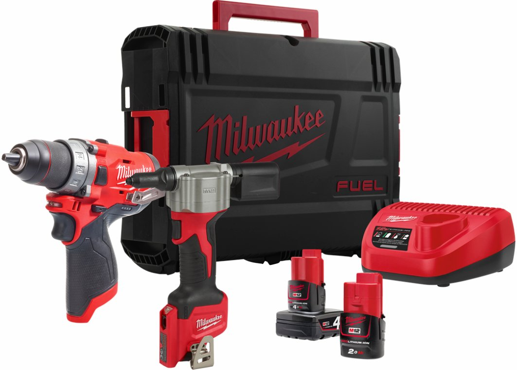 Akku PowerPack 12 volt. Milwaukee