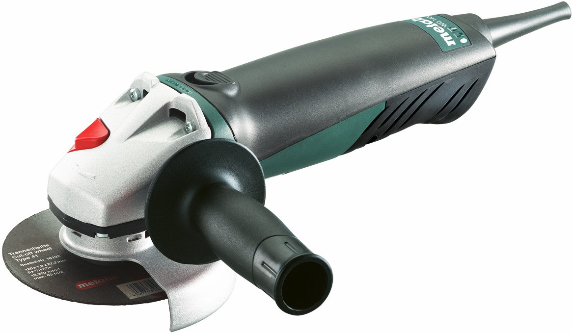 Vinkelsliber 125 mm, 1400 watt. Metabo